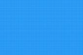 graph paper. seamless pattern. architect background. blue millimeter grid. vector illustration