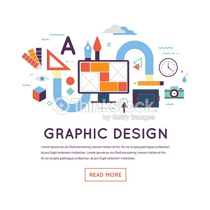 graphic design workflow process vector art thinkstock
