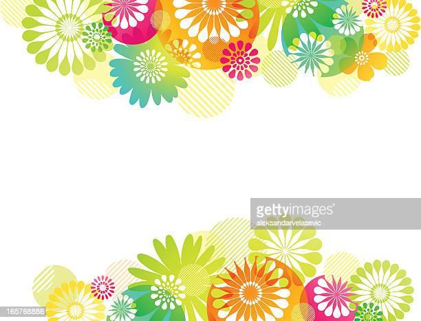 Blumen Hintergrund mit