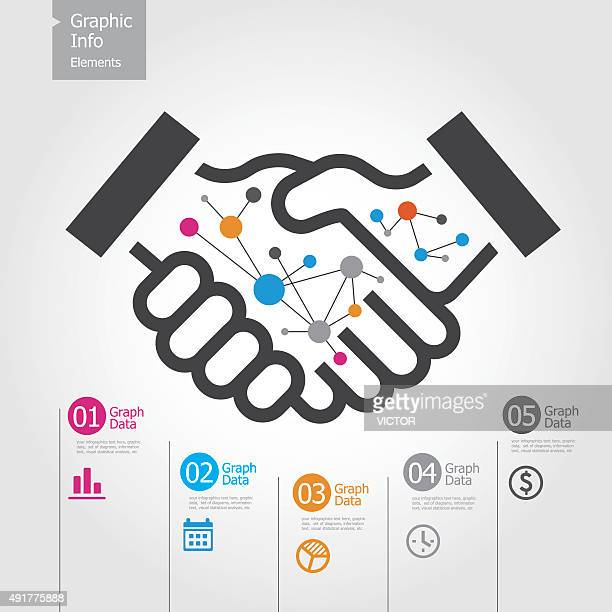 Graphic Info Elements - Handshake