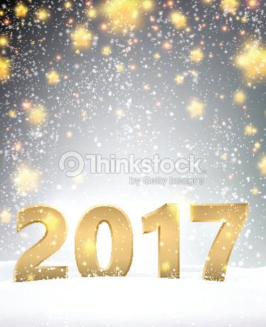 gray 2017 new year background vector art