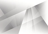 Gray and white color geometric modern design background design, Vector Illustration for your business.