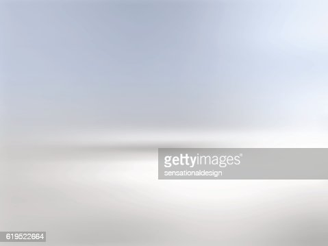 Gray background horizon with gradient to blue : Arte vetorial