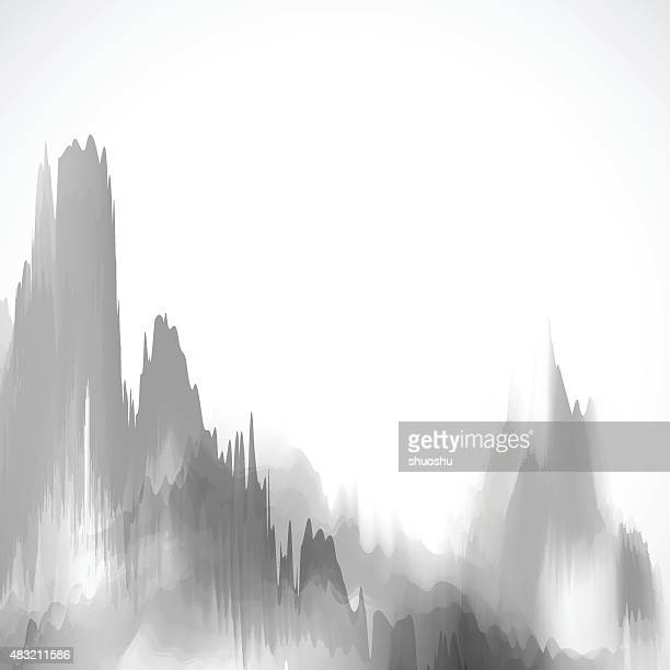 gray mountain background