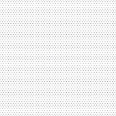 Gray seamless dot pattern. Vector illustration