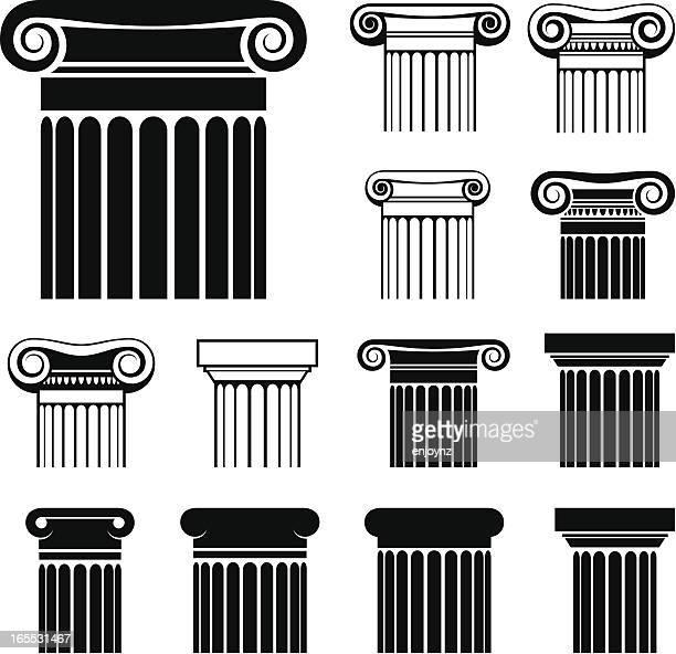 Greek columns