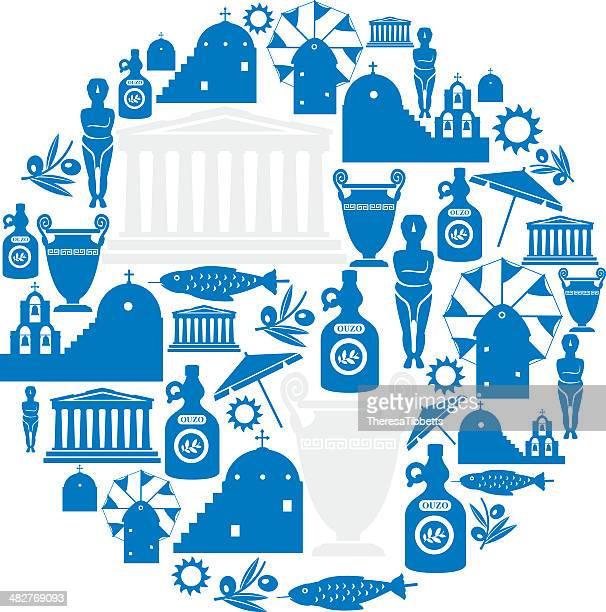 Greek Icon Montage