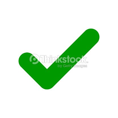 Green Check Mark Icon Tick Symbol Vector Art Thinkstock