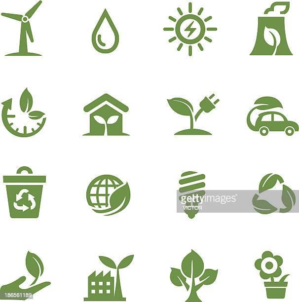 Grüne Symbole-Acme Series