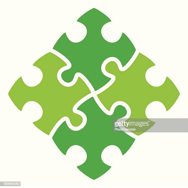 green people puzzle