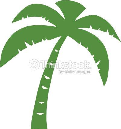 Silhouette de palmier vert clipart vectoriel thinkstock - Palmier clipart ...