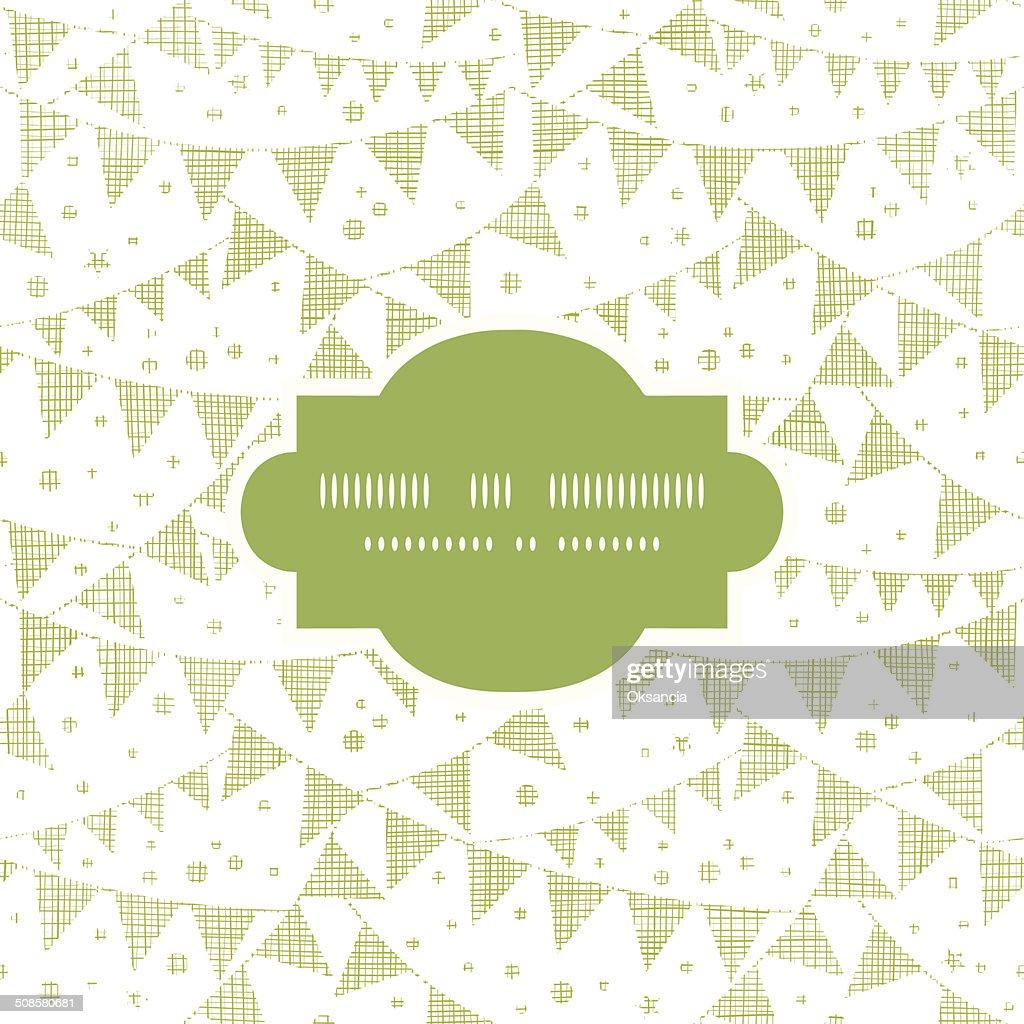 Vert fêtes en Textile motif de fond sans couture nid d'ange : Clipart vectoriel