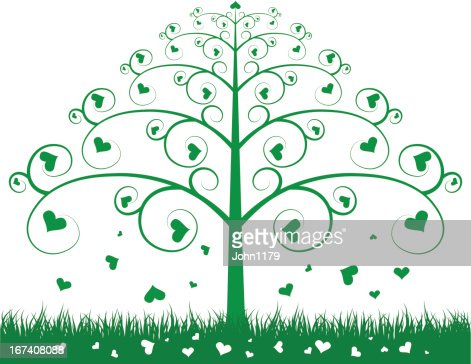 green tree : Vector Art