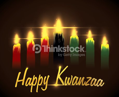 Greeting kwanzaa message with traditional candles vector art greeting kwanzaa message with traditional candles vector art m4hsunfo