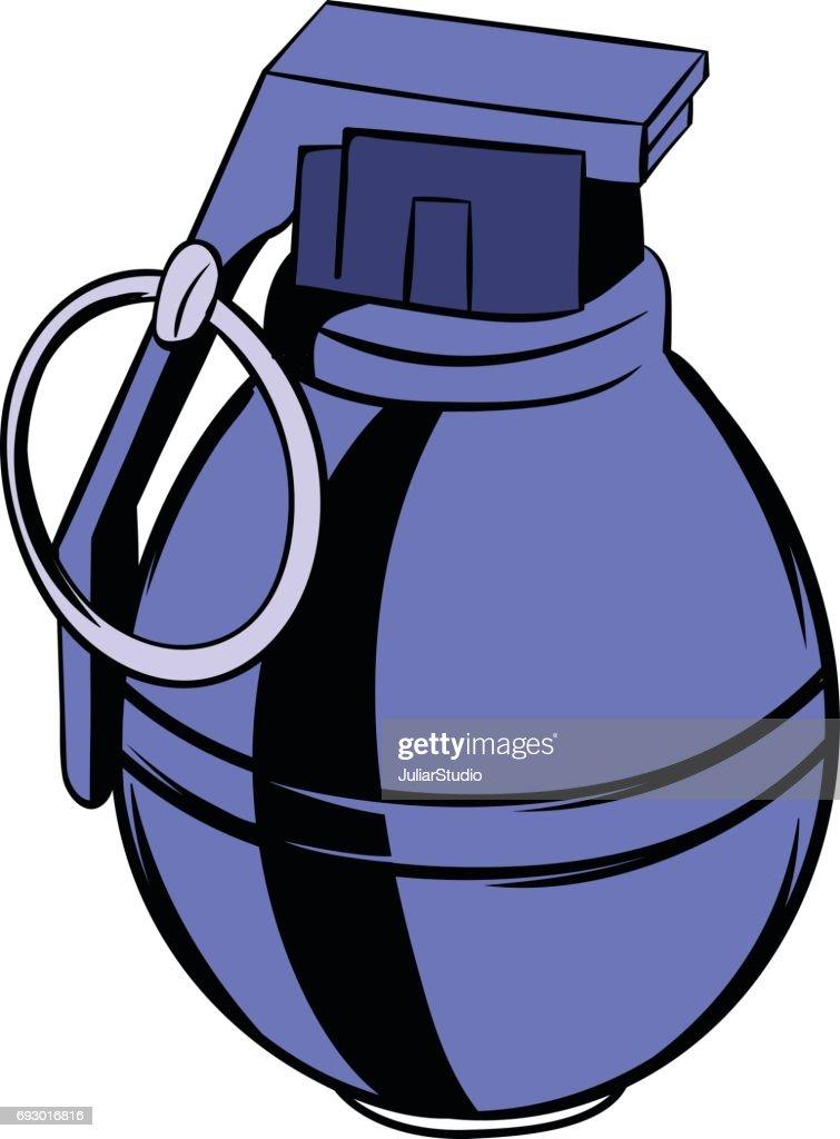 dessin anim ic ne de grenade clipart vectoriel thinkstock rh thinkstockphotos fr
