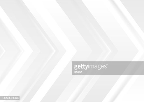 Grey tech abstract corporate arrows background : Vector Art