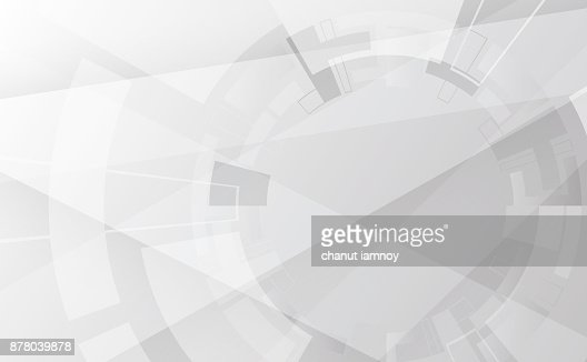 Grey wheel geometric technology background with gear shape. Vector abstract graphic design : Vector Art