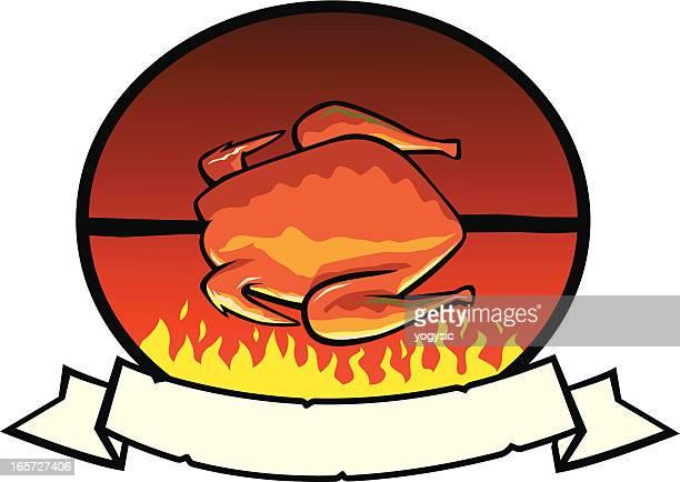 Grilled Chicken Label