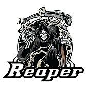 grimm,skull,reaper,gothic,halloween