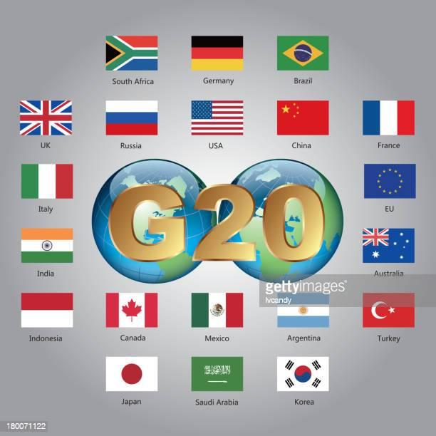Groupe des vingt du pays