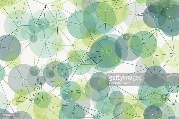 Growth Polygon Circle Pattern