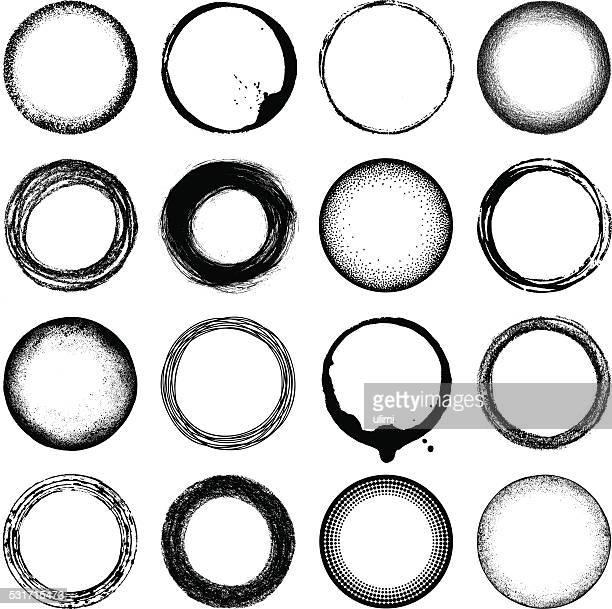 Grunge de círculos
