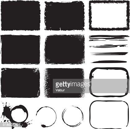 Grunge Design Elements : stock vector