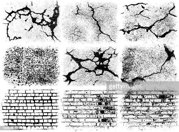Brick Wall Art brick wall stock illustrations and cartoons | getty images