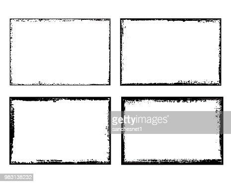 Grunge frame : stock vector