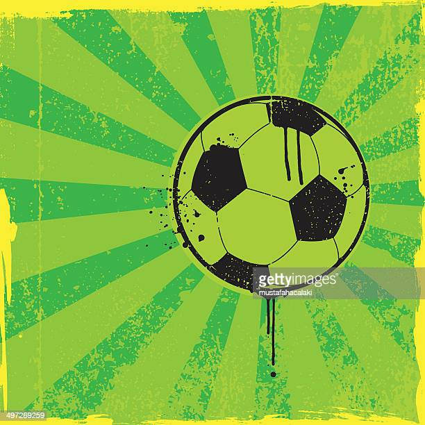 Soccer Ball Graffiti