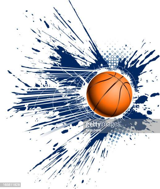 grunge speed basketball