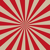 Grunge sunburst vintage background and texture. Retro rays comic