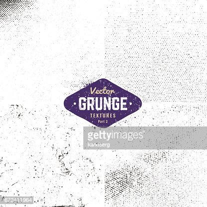 Grunge Textures Set : stock vector