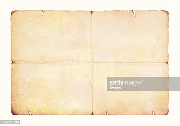 Vector de Grunge de papel