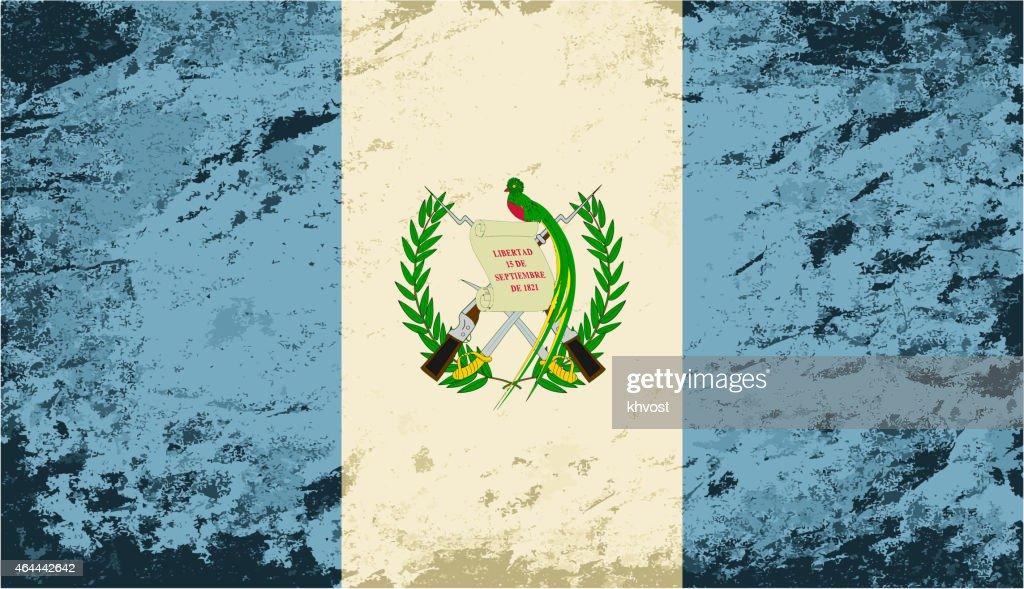 Guatemala grunge flag Photo | Free Download