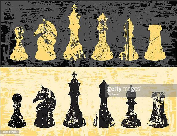 Gunge Chessmen Set