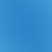 Pop art comic background halftone dots. Cartoon Vector Illustration on blue