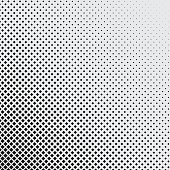 halftone background of dark blue rhombuses with diagonal orientation