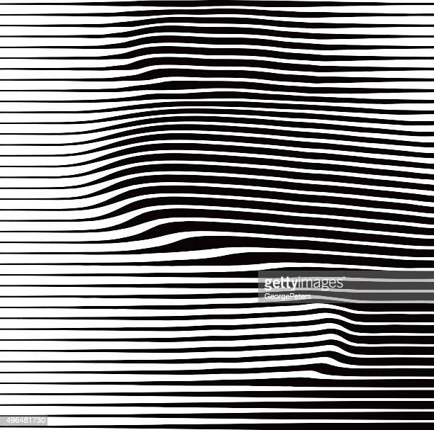 Halftone Pattern of Rippled and Wavy Lines