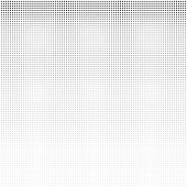 Halftone square vintage retro gradients pattern. Monochrome pop art vector illustration.