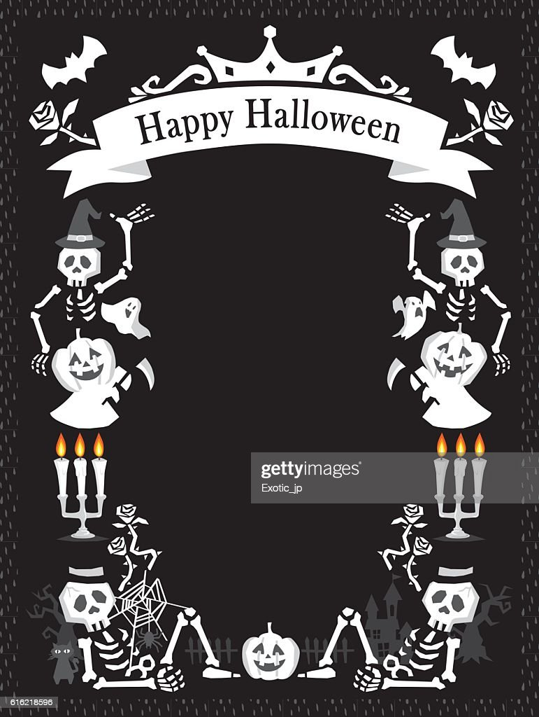 Halloween card : Vector Art