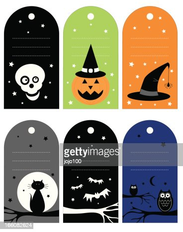 similar images - Halloween Gift Tag