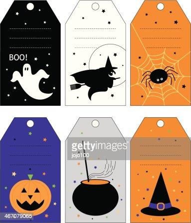 1 - Halloween Gift Tag