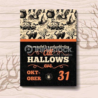 Halloween invitation vector art thinkstock halloween invitation vector art stopboris Gallery