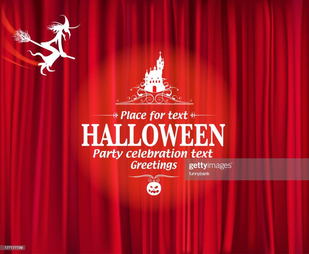 halloween night party vector art - Halloween Night Party