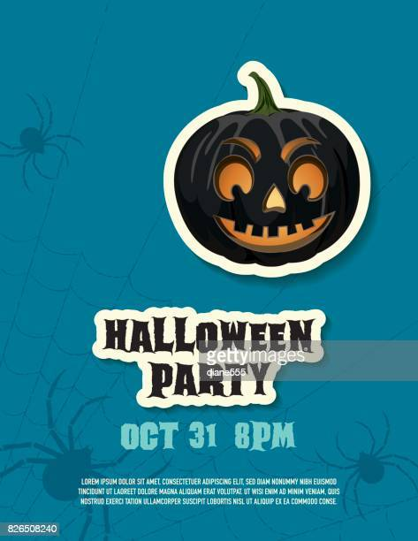 Halloween Party in Blue