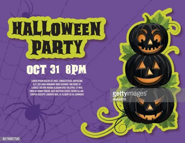 Halloween Party in Purple
