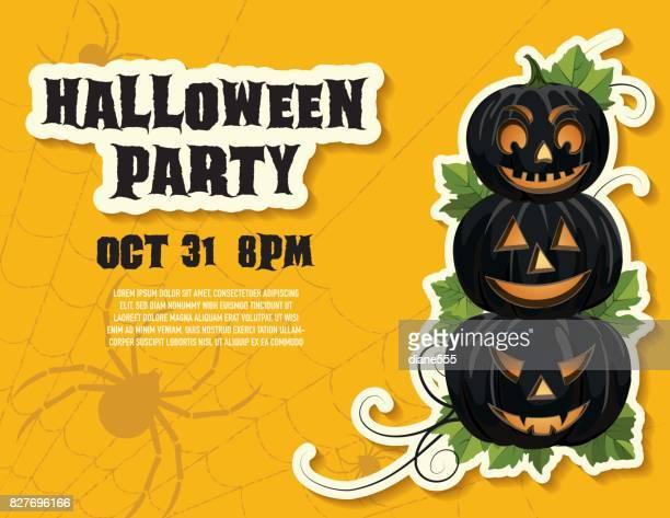 Halloween Party - Yellow
