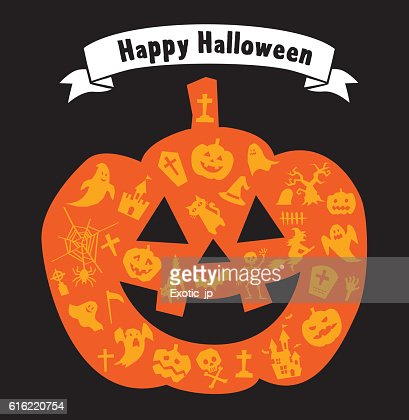 Halloween Pumpkin : Vector Art