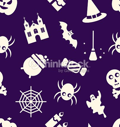 motif sans couture dhalloween clipart vectoriel | thinkstock
